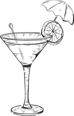 stirrer: cocktail