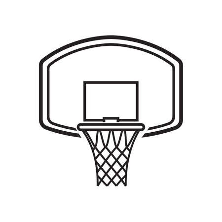 basketball hoop 일러스트