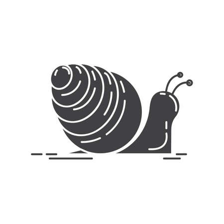 slimy: snail Illustration
