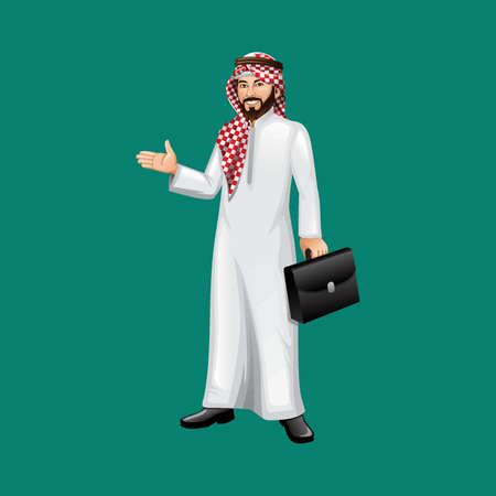 thobe: middle eastern businessman