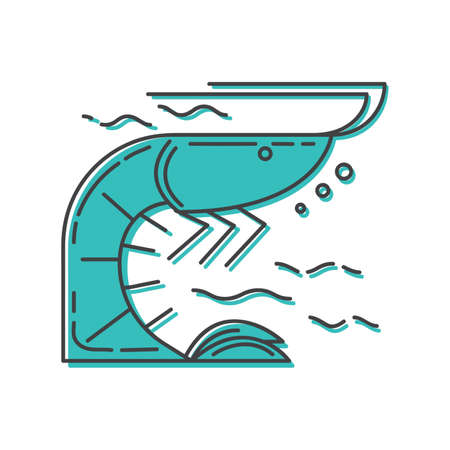 shrimp Ilustrace