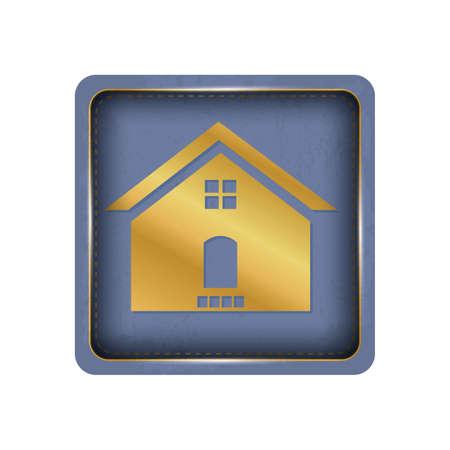House button design.