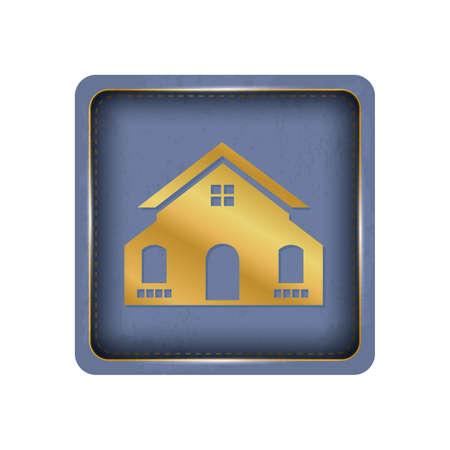 Elegant house button design.