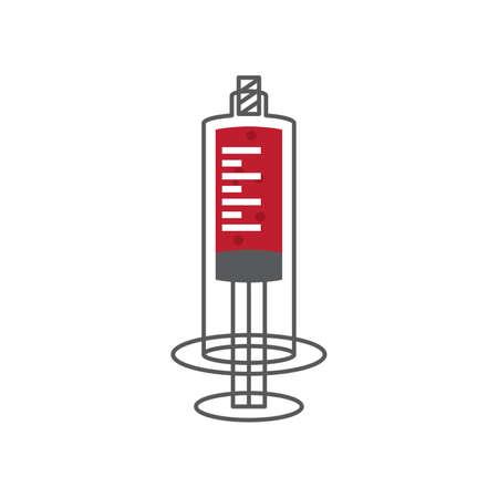jab: medical syringe