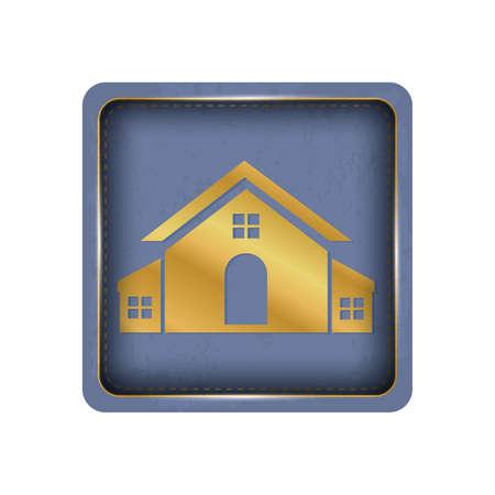 Homey house button design.