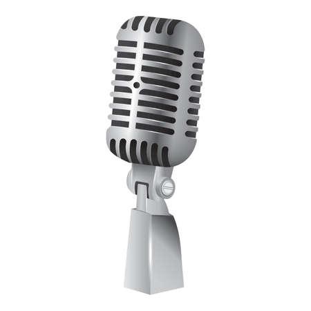 vintage: vintage microphone