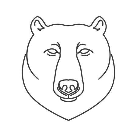 omnivorous: bear Illustration