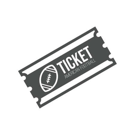 sports ticket Illustration