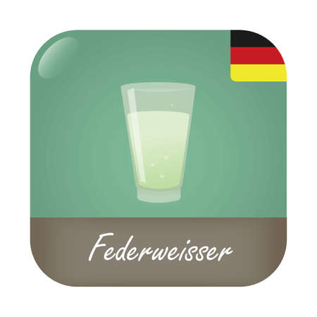 a glass of federweisser