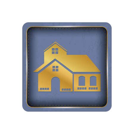Big house button design.
