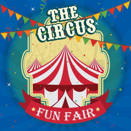 The circus poster design