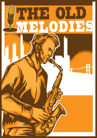 melodies: the old melodies poster design