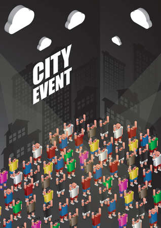 city event poster design