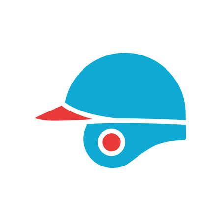 Batting helmet Illustration