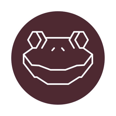 Frog Head Royalty Free Cliparts Vectors And Stock Illustration