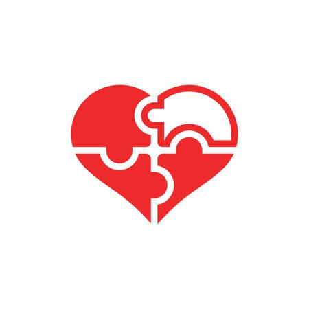 forme: Heart shape puzzle