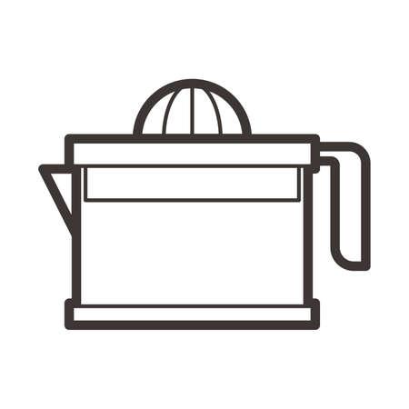 Handmatige juicer Stock Illustratie