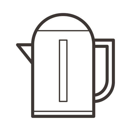 boiler: Electric kettle Illustration