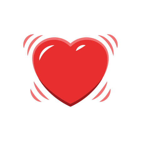 vibrating: Heart icon