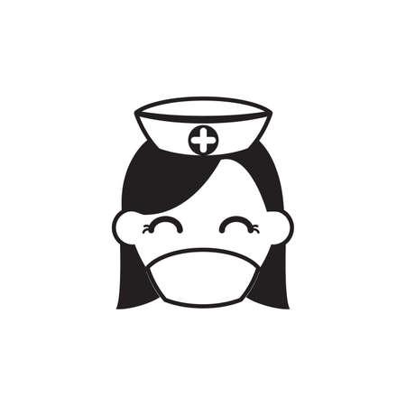 medical headwear: Nurse