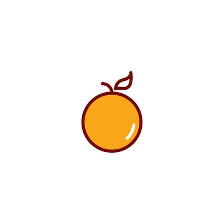 mandarin orange: Mandarin orange Illustration