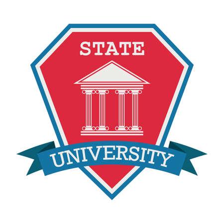 State university design Stok Fotoğraf - 74131995