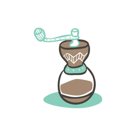 coffee grinder Illustration