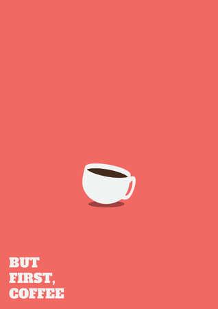 coffee design Ilustração