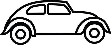volkswagen: volkswagen car Illustration
