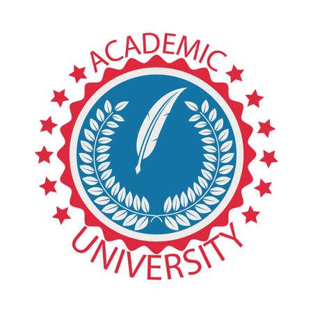 Design académique universitaire Vecteurs