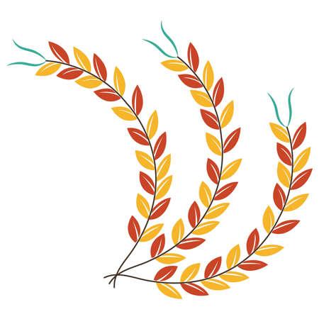 wheat stalks Illustration