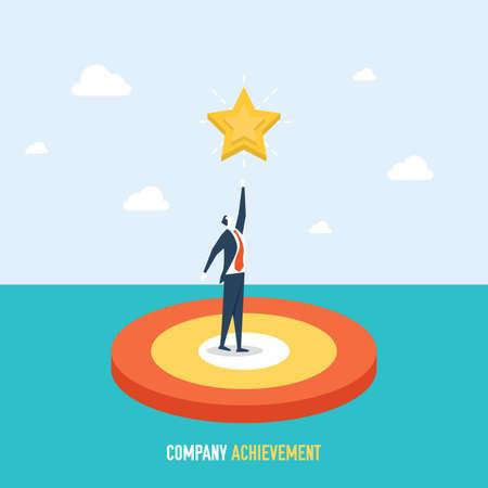 company achievement concept