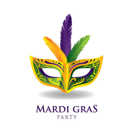 mardi gras design Illustration