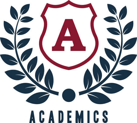 academics logo element