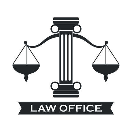 impartiality: law office logo element