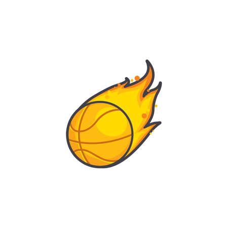 fireball: basketball fireball