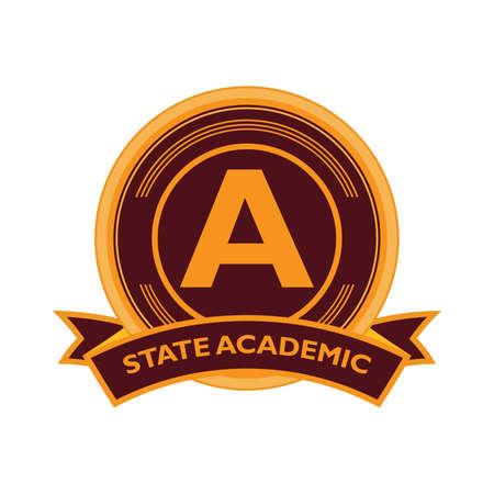 état académique élément logo Logo