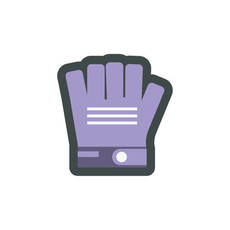 cycling gloves Illustration