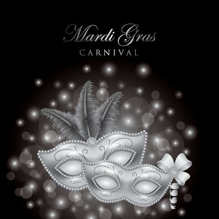 mardi gras carnival design Illustration