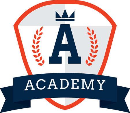 academy logo element