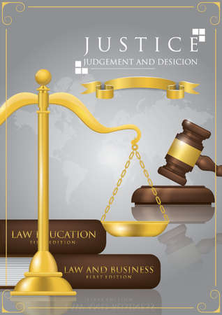 law design Illustration
