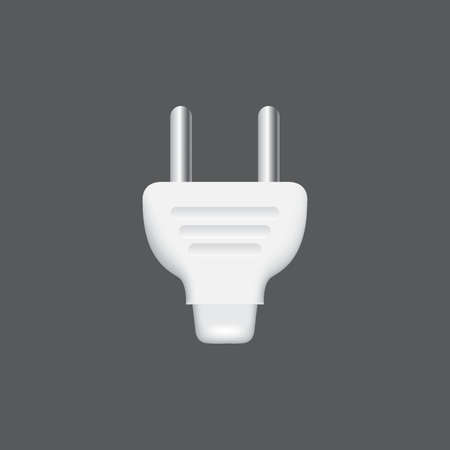 alternating current: two pin plug