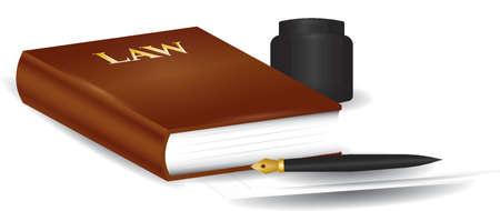 Gesetz Design Standard-Bild - 74165390