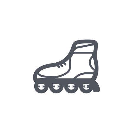 inline: inline skates Illustration