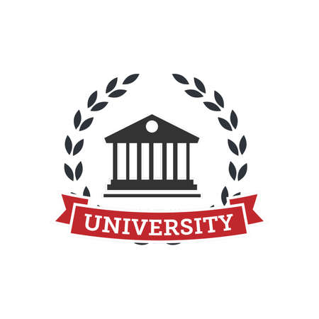 university logo element Illustration