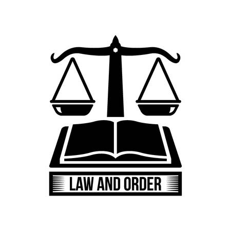 impartiality: law and order logo element