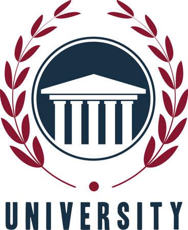 Élément de logo de l'université