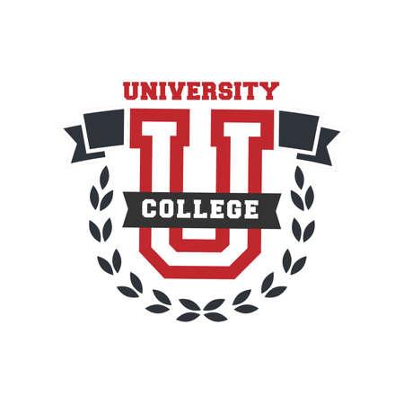 university college logo element
