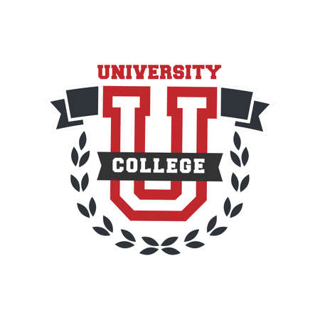 university college logo element