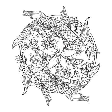 unique fish pattern design